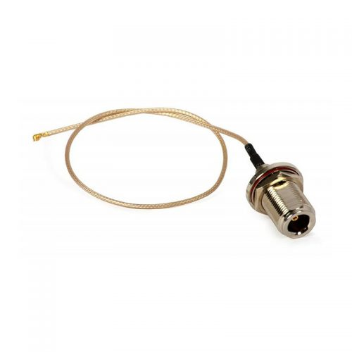 U.FL to N Female, thick RG-178 cable, 2.4/5GHz, 28cm
