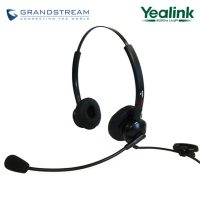Supervoice SVC102 Call Center Headset DUAL with QD to RJ9 Connecting Cord